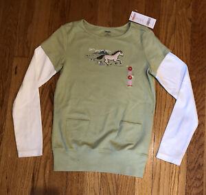 NWT-Gymboree-Horse-Shirt-Girls-10