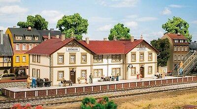 11413 Auhagen Ho Kit Stazione Ferroviaria Montagna Verde-nuovo + Ovp-mostra Il Titolo Originale Materiali Di Alta Qualità