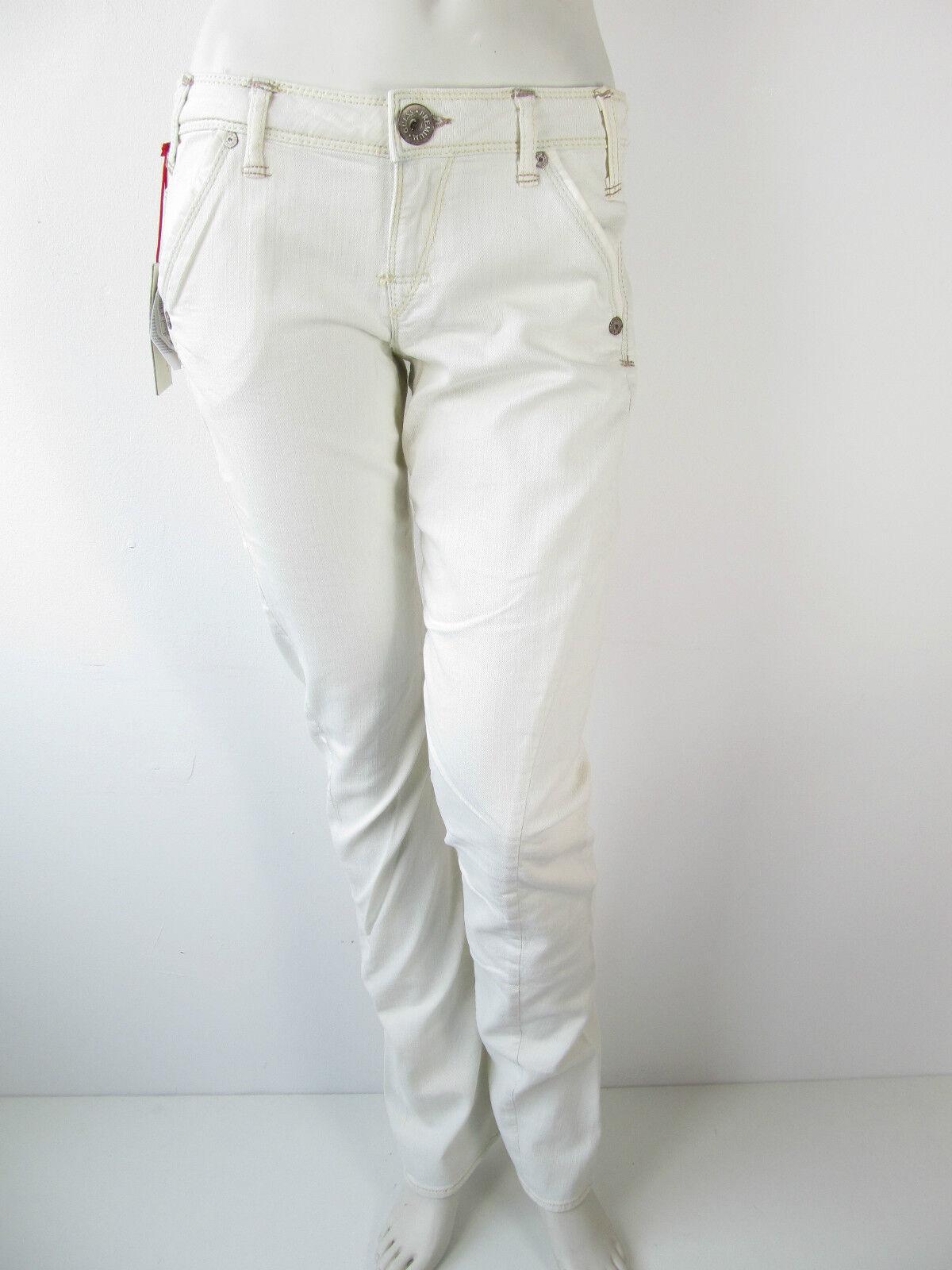 Guess Denim Narrow Jeans Hose Pants Weiss 29 30 31 UVP