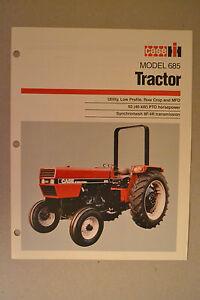 international 685 tractor