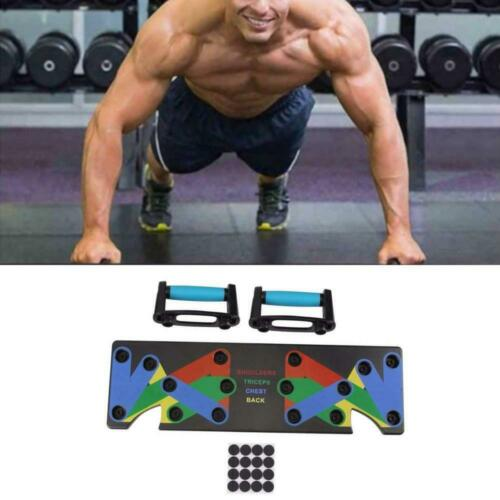 Details about  /9 in 1 Push Up Rack Board Unisex