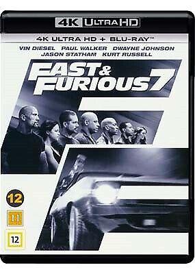 Fast & Furious 7, instruktør James Wan, Ultra HD Blu-ray