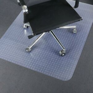 Desk Chair Mat For Carpet Pvc Floor Protector For Office And Home