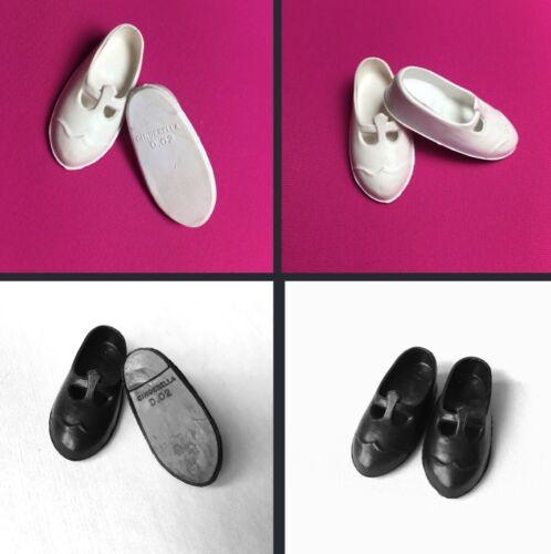SINDY Mam /'selle Chaussures Cendrillon D.02 T-Bar Fit Fit poupée pieds jusqu/'à 2.5x1cm
