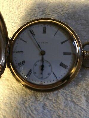Elgin 1900 16sz Hunter's Case Pocket Watch