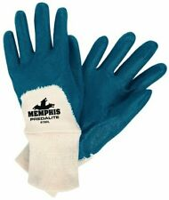Mcr Safety 9780l Predalite Nitrile Rubber Palm Coated Gloves With Knitted Wri