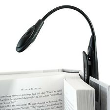 CONNECTWIDE® LED BOOK LIGHT-One Arm,Bright white LED ,Easy To Use Clip,CW-681