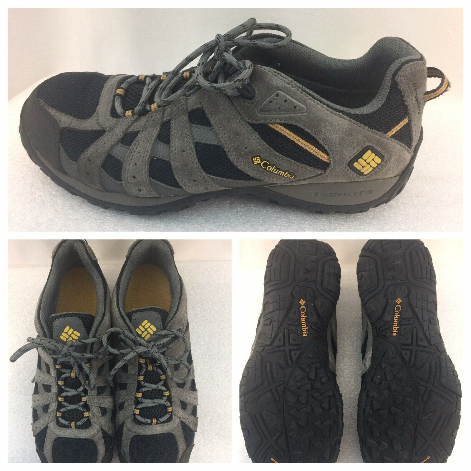 Columbia  Techlite Omni Grip BM3938-010 Hombre Talla 11.5 EE. UU. 44.5 EUR Zapatos Gay Negro  ordene ahora los precios más bajos