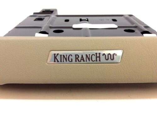 2005 2006 Ford F-250 F-350 King Ranch Tan Dash Cup Holder Tray OEM new 2504810