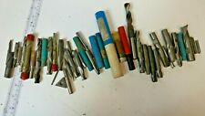 Lot Of 30 Double End Flute And Cutter Drill Bit Carbide End Mill Etc