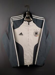 Details about 4.55 Germany soccer jacket Small vintage retro Full Zip football Adidas ig93