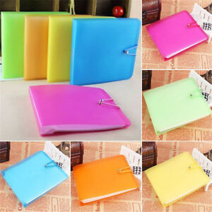 3x-12-Sleeves-DVD-CD-Blu-Ray-Disc-Carry-Sweet-Storage-Bag-Case-Holder-Fast-Ship