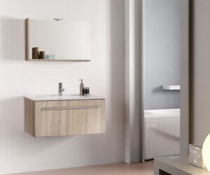 Mobile da bagno moderno sospeso Perla da cm 80 Savini arredo bagno ...