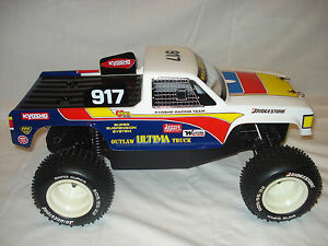 KYOSHO ULTIMA OUTLAW TRUCK VINTAGE BODY raider