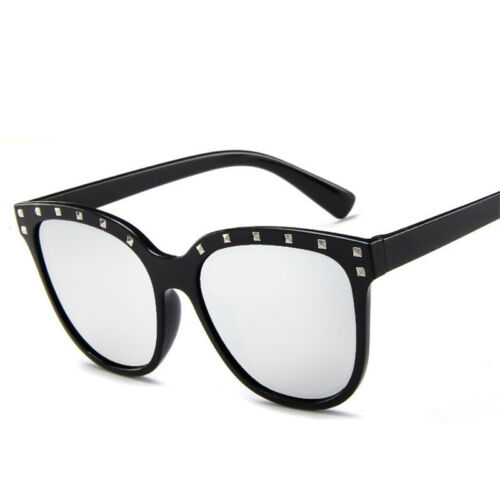 Retro Rivet Sunglasses Women Sport Driving Outdoor Eyewear Joker Fashion Glasses