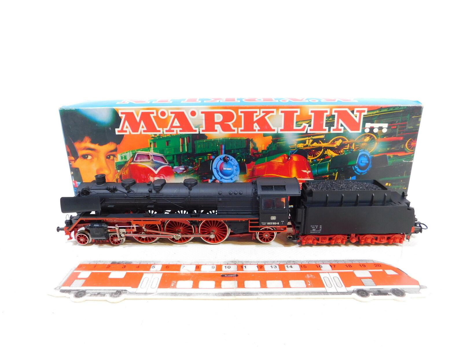 CE87-1  Märklin H0 AC 3085 Dampflok Dampflokomotive 003 160-9 DB, OVP