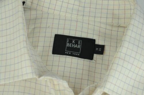 Camicia Blu Behar amp; Ike Cotone Dama Crema X Di 33 16 Qualità Rosso Uomo pwvwWFtqA