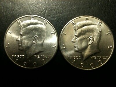 1976 D Kennedy 50c AU//BU Half Dollar Roll no silver Mint About UNC MS 50 Cent