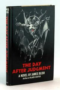 James-Blish-First-Edition-1971-The-Day-After-Judgement-Hardcover-w-Dustjacket