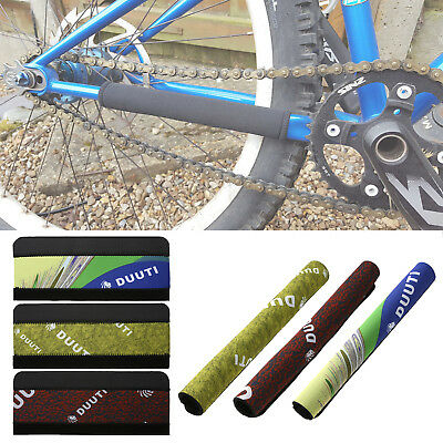 MTB Bike Bicycle Frame Chain Guard Chain Stay Rear Fork Pad Protector Cover AL