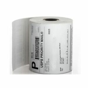 Dymo 4x6 Label Printer 1 Roll 4x6 Shipping Labels 220 Roll For Dymo 4xl Printer