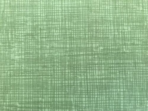 Green FQ Fat Quarter Fabric Blended Stripes Scribbles Lines 100/% Cotton Quilting