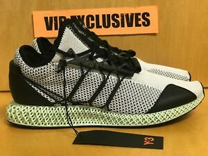 9b5cafc36d52fe ADIDAS Y-3 RUNNER 4D BLACK WHITE FUTURECRAFT AQ0357 ONLY 200 MADE