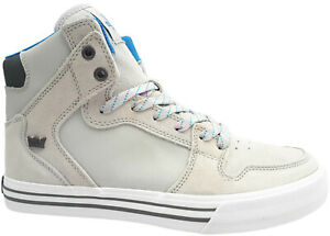 Supra-Vaider-Sneaker-Gr-43-Skaterschuhe-Leder-Schuhe-Freizeitschuhe-Skater-NEU