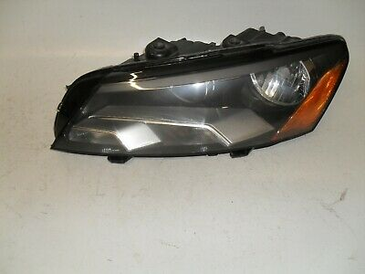 2012-2015 VW Volkswagen Passat Driver Left Side Headlights Fit Halogen Type