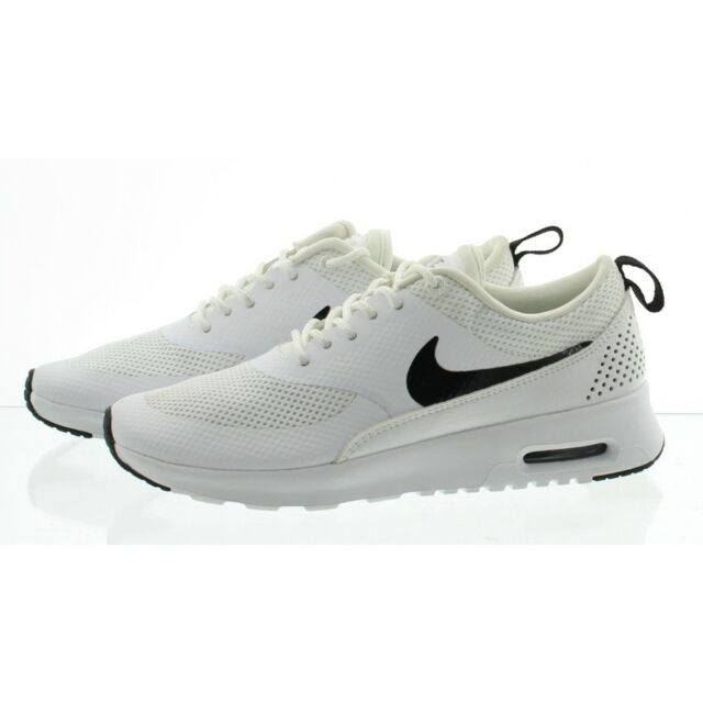 2b00b08cd14d8d Nike 599409 Women s Air Max Thea Running Shoes White black 10 US ...