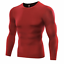 Shirt-Men-Compression-Base-Layer-Tight-Under-Skin-Long-Sleeve-Plus-Size-Shirt thumbnail 5