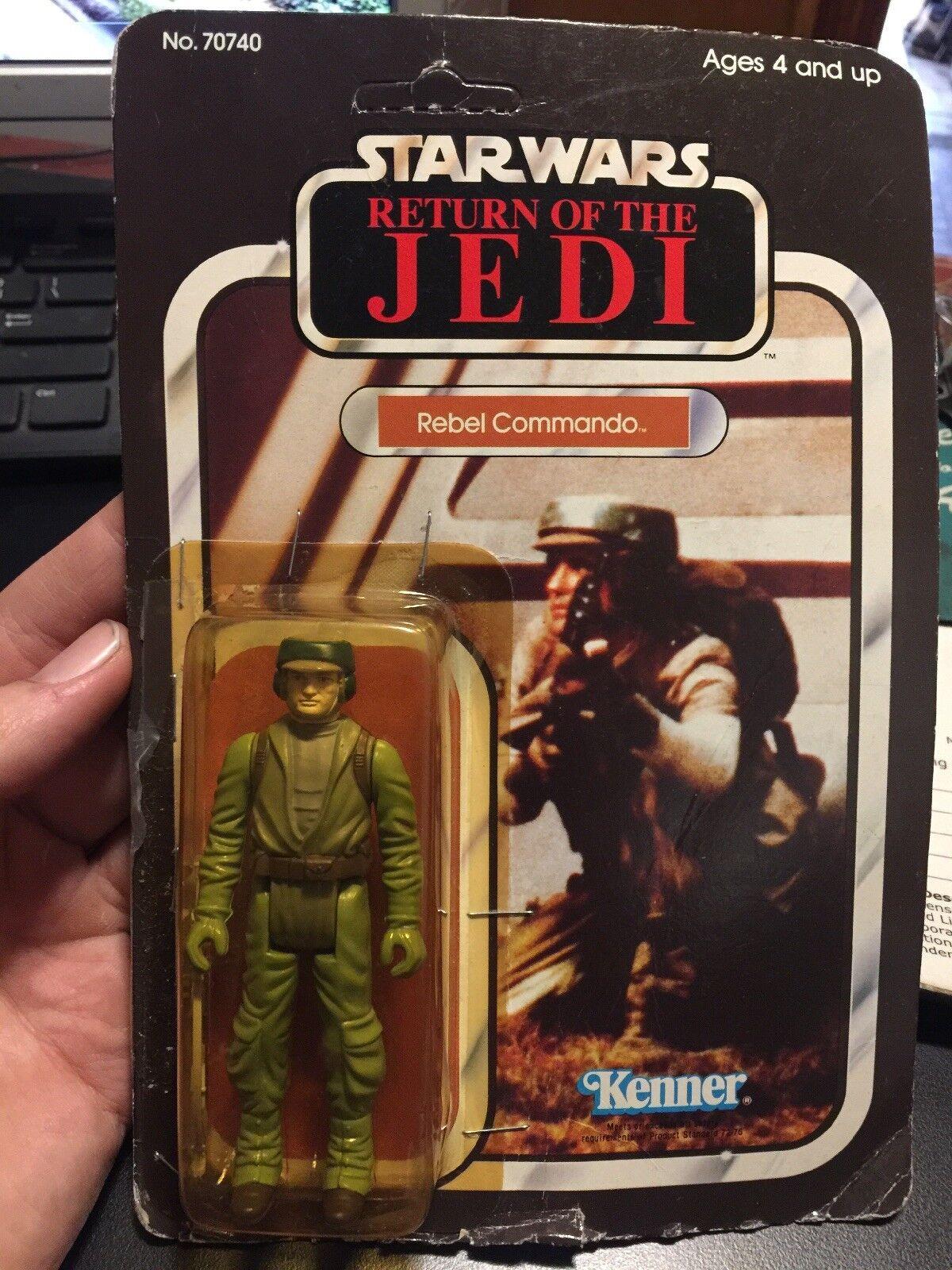 Star wars return of the jedi REBEL COMMANDO 1983 Kenner