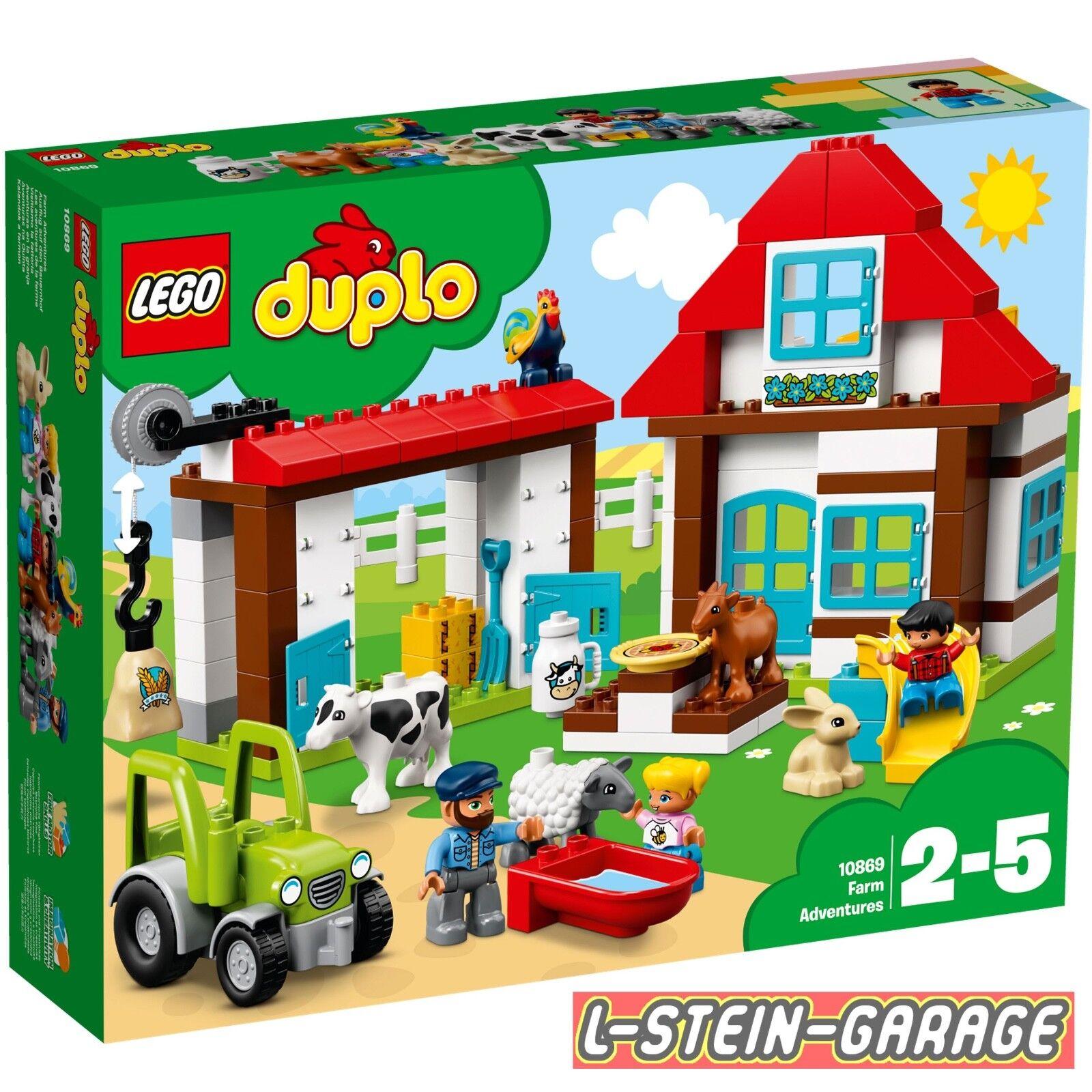 LEGO® DUPLO® 10869 Ausflug auf den Bauernhof NEU & OVP    Verkauf Online-Shop