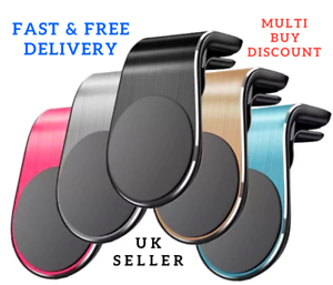 Universal Magnetic in Car Mobile Phone Holder Air Vent Phone Mount for iPhone Uk