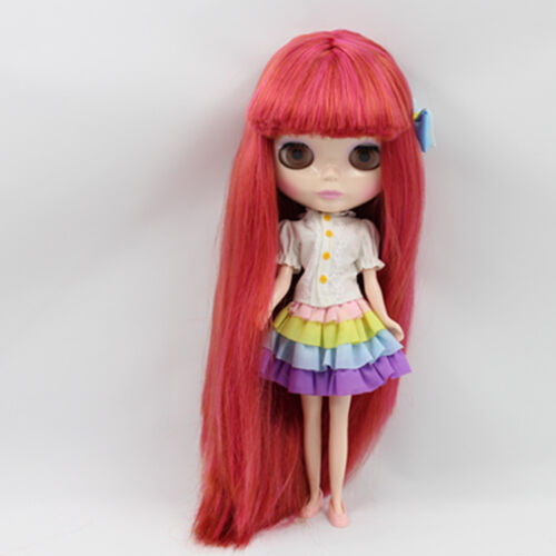 """12/"""" Neo Nude  Long hair Blythe doll From Factory  XZ087"""