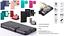 Custodia-x-Huawei-NOVA-SMART-Honor-6C-Cover-LIBRO-STAND-portafoglio-CARD-VETRO miniatura 1
