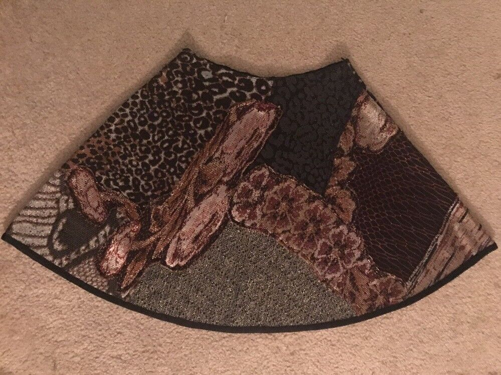 Anthropologie  Cecilia Prado Skirt knee-Lenght Multi-color. Petite Small