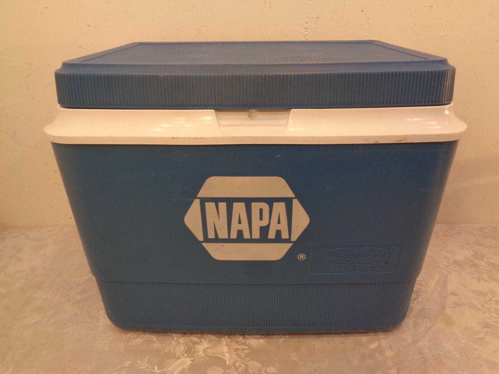 Gott Ice Chest Cooler No.1940 NAPA Auto Parts Adgreenising Large 21  X 14  X 16