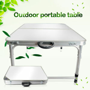 Image Is Loading 3 039 Ft Partable Aluminum Folding Table Picnic