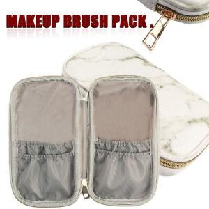 Details About Cosmetic Travel Makeup Brush Handbag Case Holder Pouch Pocket Bag
