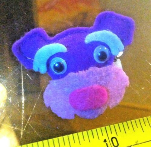 Claire/'s Claires Accessories Official Head Hair Clip Cute Purple Dog £2 RRP