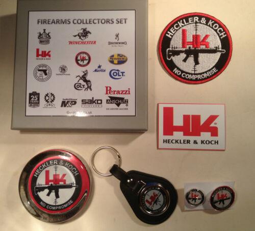 keyring aimant insignes Heckler /& koch guns collectionneurs ensembles: presse-papier patch