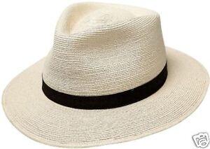 aa878b14c89d SunBody Hat - 2 1 2  brim Fine Palm Tear Drop - 7-3 8
