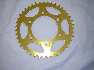 Ducati 620 Monster 02-06 /ie&s  38T 520 Rear Sprocket Alloy Gold  Anodised.New,