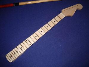 Scalloped-maple-Gitarrenhals-fuer-Stratocaster-22-Bde-wie-Malmsteen-Blackmore