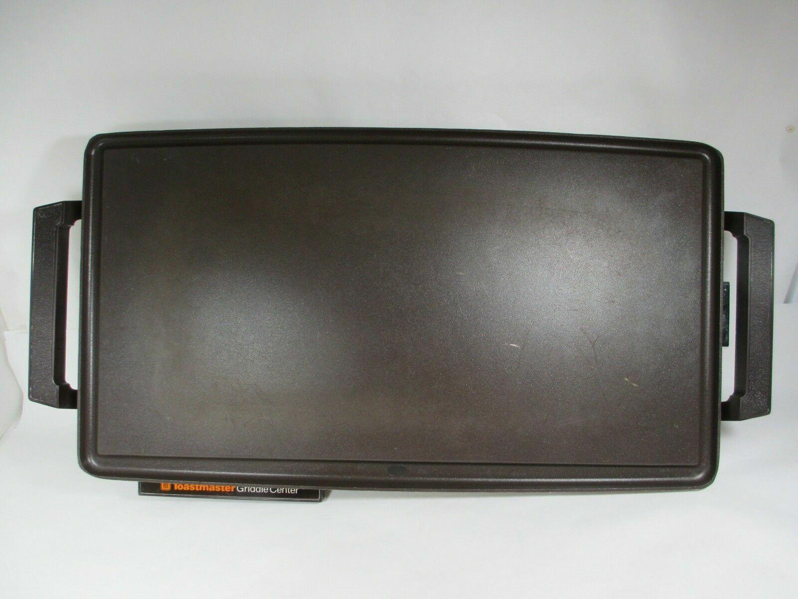 Vintage comptoir Toastmaster 880 Antiadhésif Teflon électrique crêpière plaque chauffante