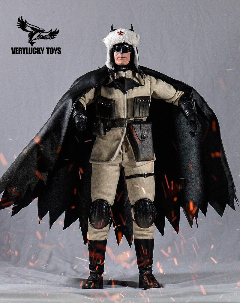 1 6 VERYLUCKY TOYS VL001 Batman figura de hijo Rojo Conjunto Completo