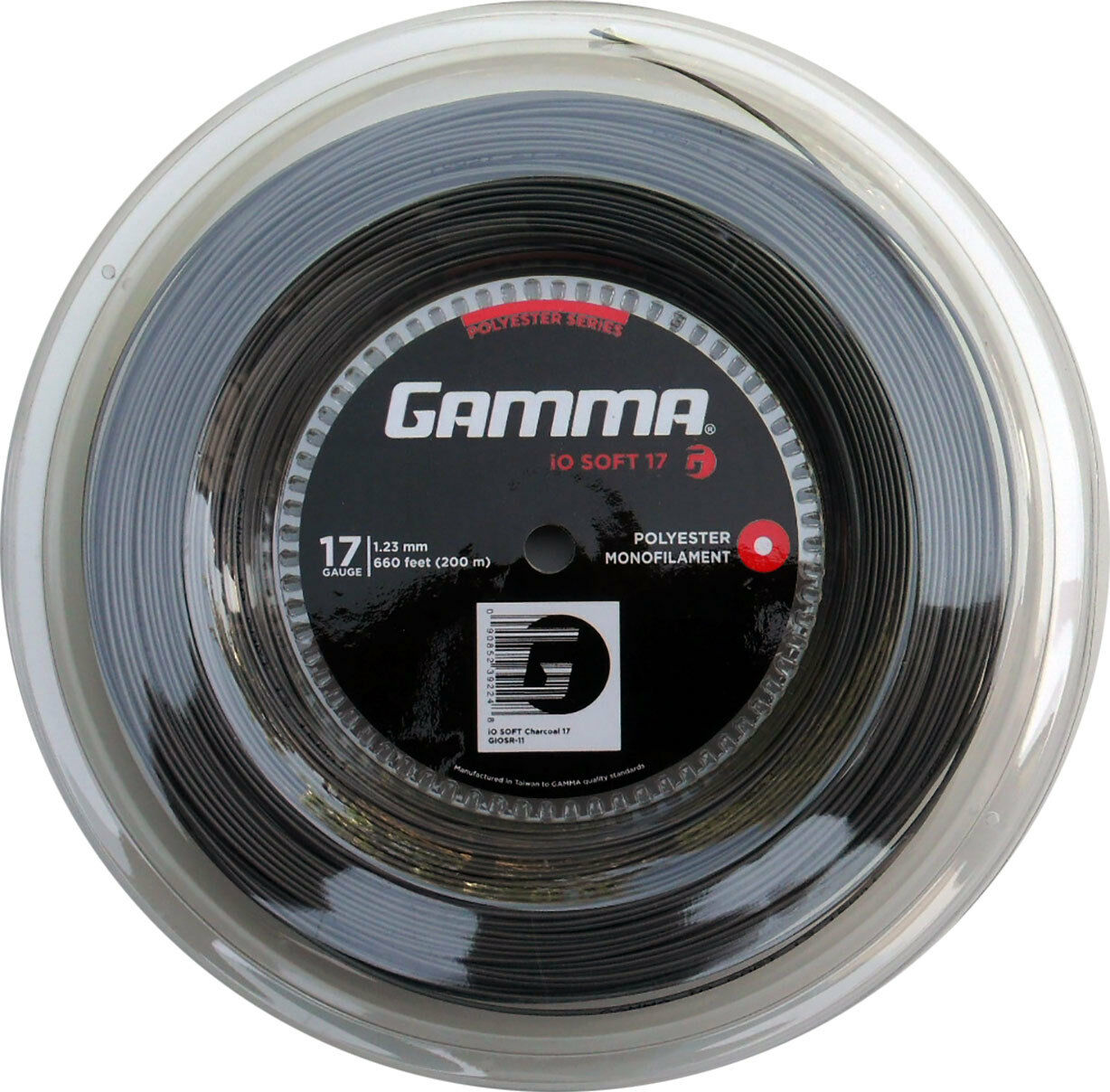 Gamma iO SOFT charcoal 200 200 200 Meter Rolle 5d9167