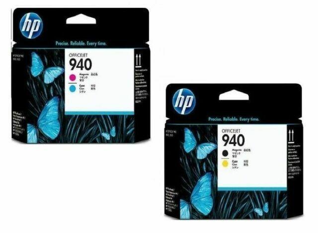 Color: Magenta-Cyan Printer Parts Original Yoton for HP940 C4900A 4901A Print Head for HP Officejet Pro 8000 8500