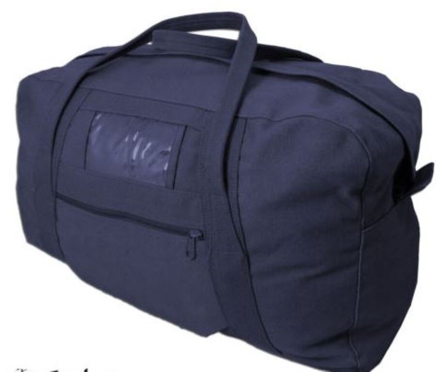 Canvas Army Echelon Bag 26  Navy Cotton Heavy Duty  60L Cadet Scouts Carry All  buy cheap